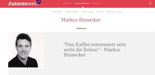New Profile online / Neues Profil im Netz